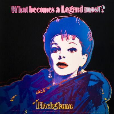 Andy Warhol, 'Blackglama (Judy Garland)', 1985