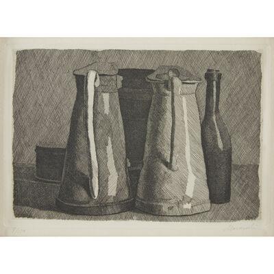 Giorgio Morandi, 'Natura Morta con Cinque Oggetti', 1956