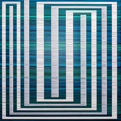 Erik Spehn, 'Bandwidth Painting (Naiad)', 2019
