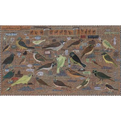 Tony Fitzpatrick, 'Small birds of the heart', octobre 1990
