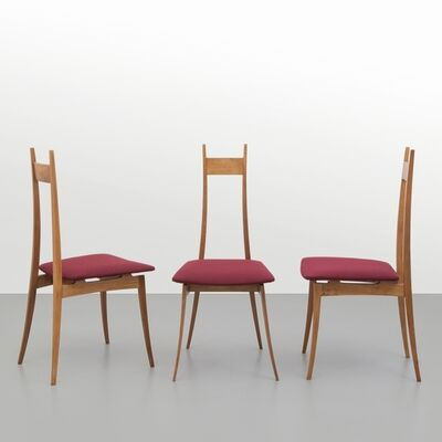Angelo Mangiarotti, 'A set of three chairs', 1959