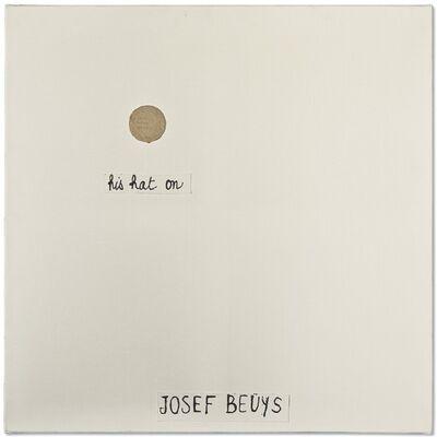 Robert Filliou, 'Josef Beuys (Bien fait, Mal fait, Pas fait)', 1972