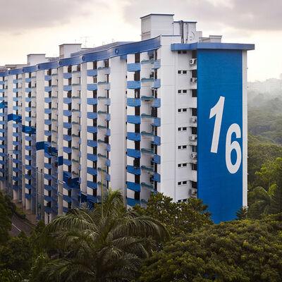 Peter Steinhauer, 'Block #16, Singapore - 2013', 2013