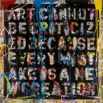 Mr. Brainwash, 'Retrospect', 2013
