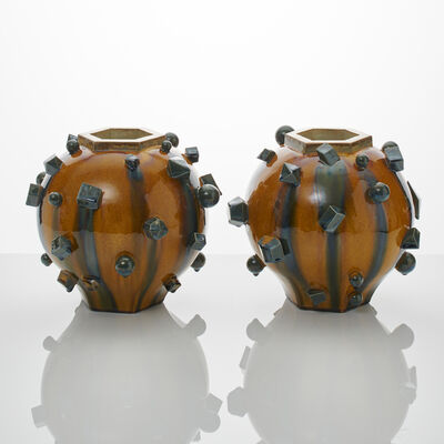 Kate Malone, 'A Pair of Magma Moon Jars', 201