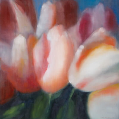 Ross Bleckner, '6 Tulips', 2019