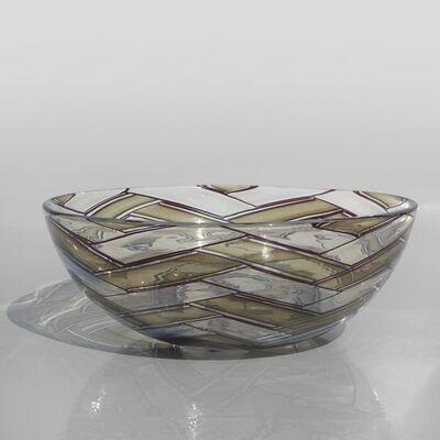 Ercole Barovier, 'A bowl 'a spina'', 1958