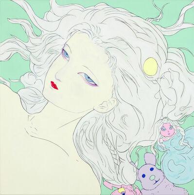 Amano Yoshitaka, 'Lady Blue', 2018