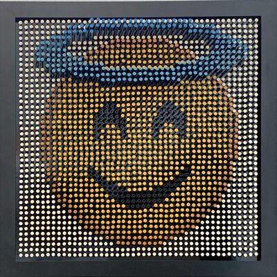 Efraim Mashiah, 'Emoji Screw Series - Smiling Face With Halo', 2018