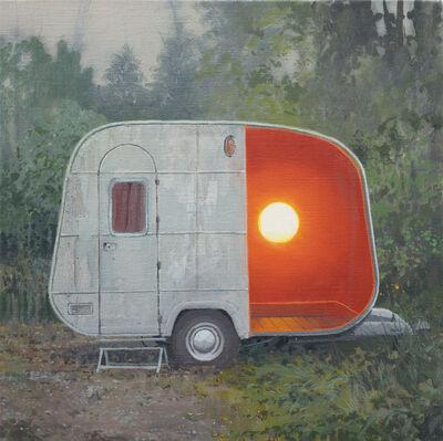 Andrew McIntosh (Mackie), 'White Egg Caravan', 2016