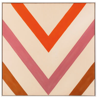 Kenneth Noland, 'Flush', 1963