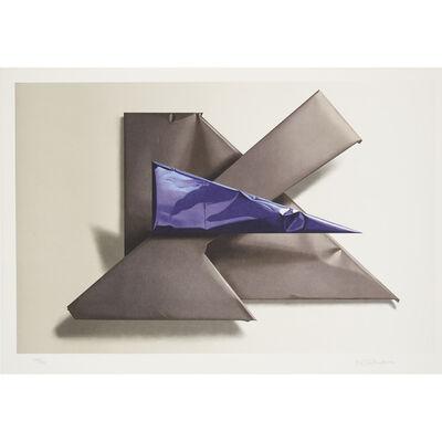 Yrjo Edelmann, 'Shape of black and blue ', 1993