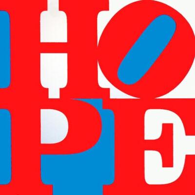 Robert Indiana, 'HOPE (original on canvas)', 2008