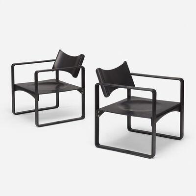 Verner Panton, 'armchairs model 270F, pair', 1965