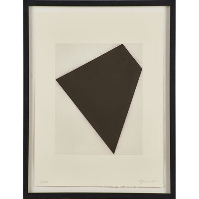 Robert Moskowitz, 'Untitled (black on white)'