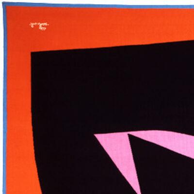 Jan Yoors, 'Orange Diamond', ca. 1970s