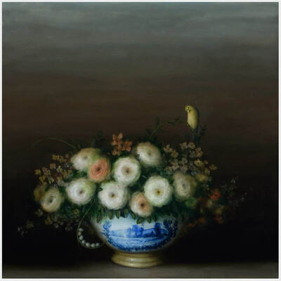 David Kroll, 'Floral Still Life (Yellowbird)', 2019
