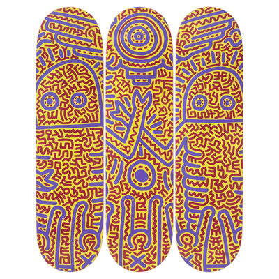 Keith Haring, 'Untitled (1984) Skateboard Decks', 2019