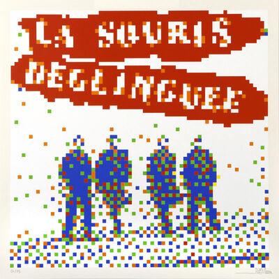 Invader, 'La Souris Delinguee ', 2008