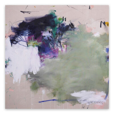 Daniela Schweinsberg, 'A Breath of Summer IX (Abstract Expressionism painting)', 2020