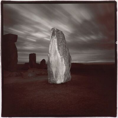 Richard Misrach, 'Stonehenge #4', 1976