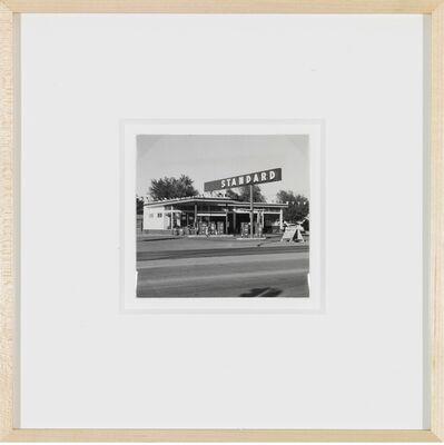 Ed Ruscha, 'Standard station, Amarillo, Texas', 1962