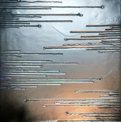 Sylvia Hommert, 'Shooting Stars / Liquid Mercury Black', 2017