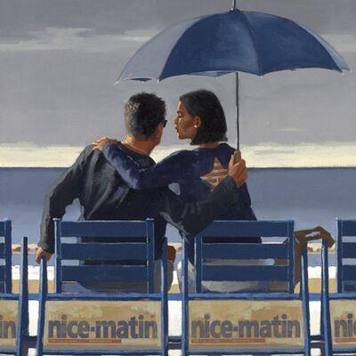 Jack Vettriano, 'Blue Blue', 2013