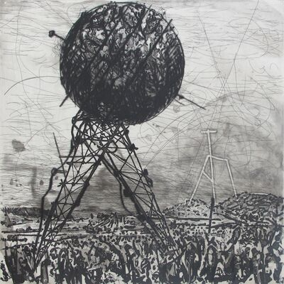 William Kentridge, 'West Coast Series (Set of 5 Prints), Olifantsriviere', 2010