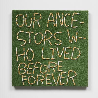 Joseph Tisiga, 'Our ancestors who lived before forever', 2020