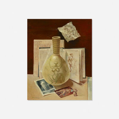 Aaron Bohrod, 'Still Life with Ceramic', c. 1970