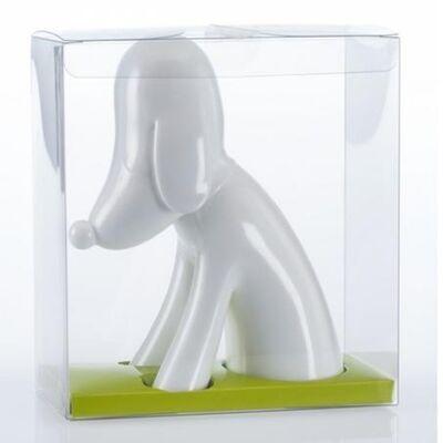 Yoshitomo Nara, 'Aomori-Ken Dog Bank (White)', 2017