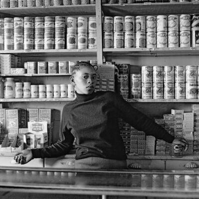David Goldblatt, 'Shop assistant, Orlando West', 1972
