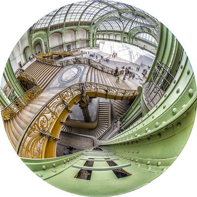 Roberto Lombana, 'Great Palaces  (Grand Paláis, Paris, France, 2014 Utría National Natural Park, Choco, Colombia, 2018)', 2019