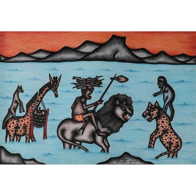 Kivuthi Mbuno, 'Chui amepanbana na simba (Le guépard lutte contre le lion)'