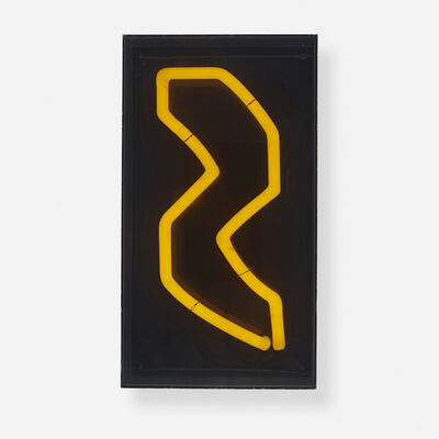Chryssa Vardea-Mavromichali, 'Untitled (from Times Square Fragments)', c. 1969