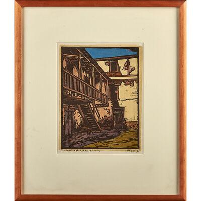 William S. Rice, 'Old Washington Hotel - Monterey, California', ca. 1925