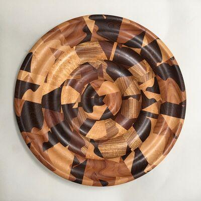 Pete Arenskov, 'Untitled Segmented Platter', ca. 1995