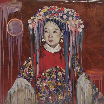 Hung Liu 刘虹, 'Ceremonial Lady', 2016