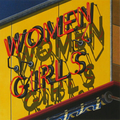 Robert Cottingham, 'Women-Girls', 2002