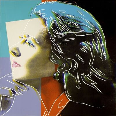 Andy Warhol, 'Ingrid Bergman - Herself, II.313', 1983