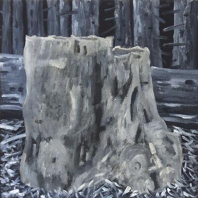 Marie Van Elder, 'Grisaille Stump VIII MVE008', 2019