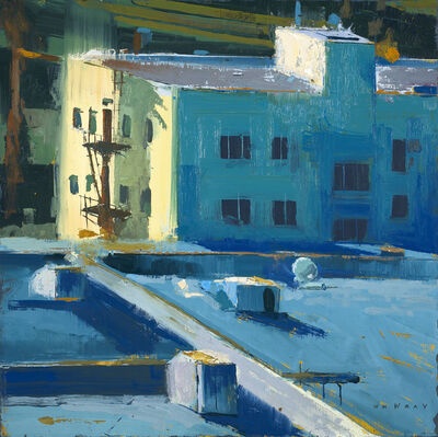William Wray, 'Rooftops #2', 2016