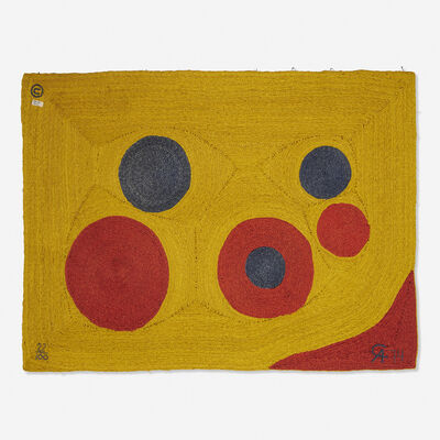 After Alexander Calder, 'Sun tapestry', 1974