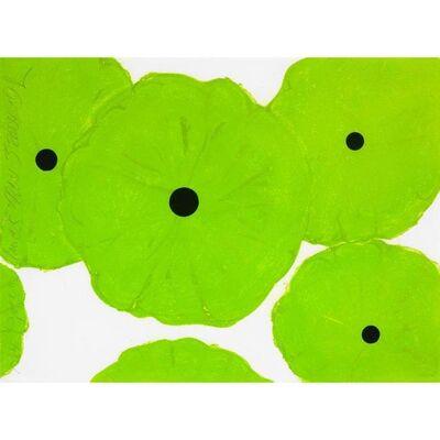 Donald Sultan, 'Six Greens (2006)', 2006