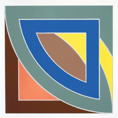 Frank Stella, 'River of Ponds l', 1971