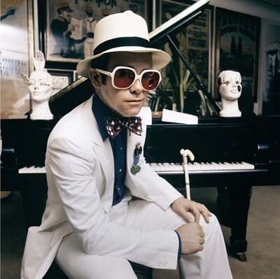 Terry O'Neill, 'Elton John 1974', 1974