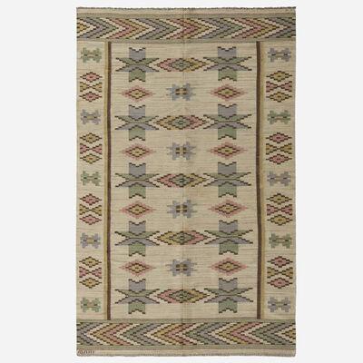 Marta Maas-Fjetterstrom AB, 'Vit Botten flatweave carpet'