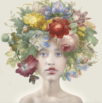 Yvonne Michiels, 'Fading Flowers Scarlet', 2019