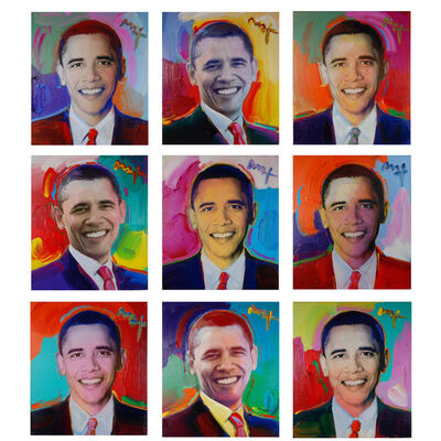 Peter Max, 'Obama to the Max (Set of 9)', 2009